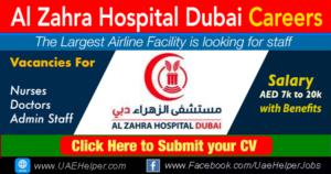 Al Zahra Hospital Dubai Careers