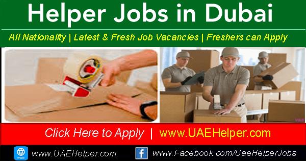 Helper jobs in Dubai