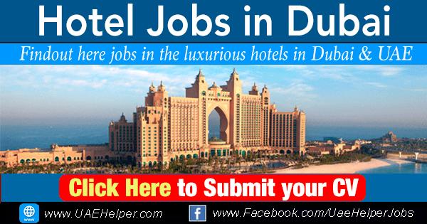 hotel jobs in Dubai and UAE