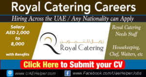 royal catering careers
