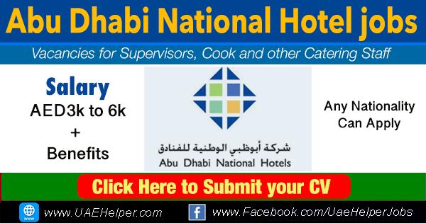 Abu Dhabi National Hotel jobs