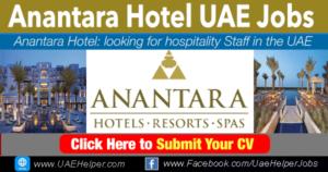 Anantara careers - hotel jobs in the UAE