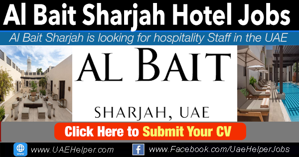 Al bait Sharjah hotel careers