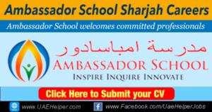 Ambassador School Sharjah Careers