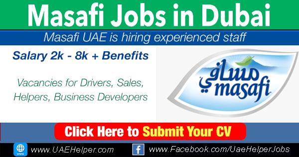masafi careers in Dubai