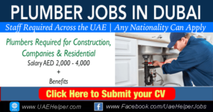 Plumber jobs in Dubai