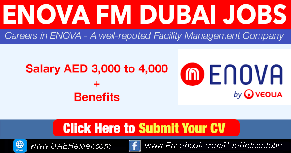 Enova Careers - Latest Jobs in Dubai in 2020