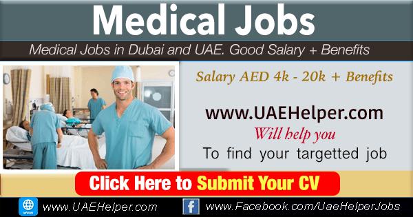 Medical Jobs in Dubai & UAE