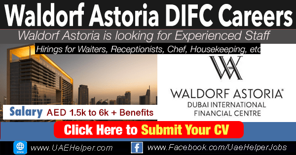 Waldorf Astoria DIFC Careers