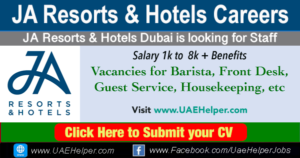 JA Resorts & Hotels Careers