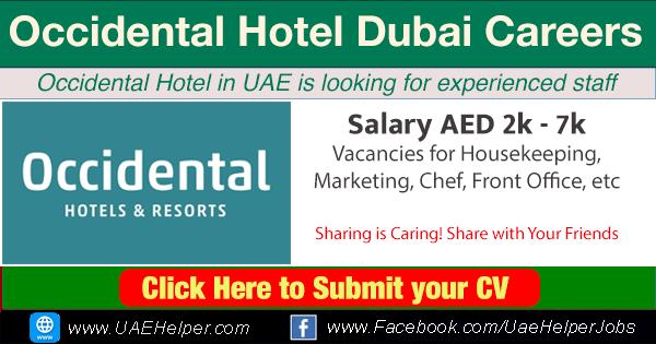 Occidental Hotel Imps Dubai Careers