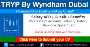 TRYP By Wyndham Dubai Careers
