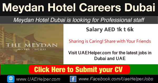Meydan Hotel careers Dubai