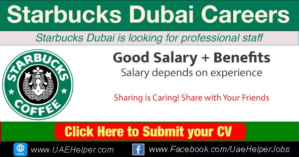 Starbucks Careers Dubai
