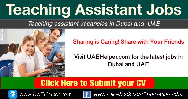 Teacher assistant Jobs in Dubai & UAE