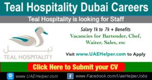 Teal Hospitality Dubai Careers