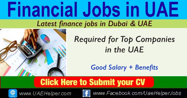 Financial Jobs in UAE - Latest Finance Jobs in Dubai