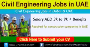 Civil Engineer Jobs in UAE