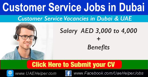 Customer Service Jobs in Dubai.
