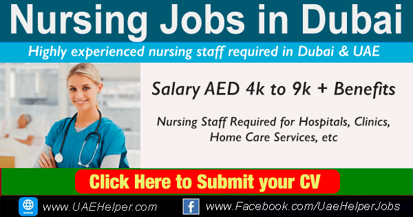 Nursing Jobs in Dubai & UAE