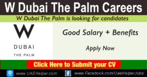 W Dubai The Palm Careers