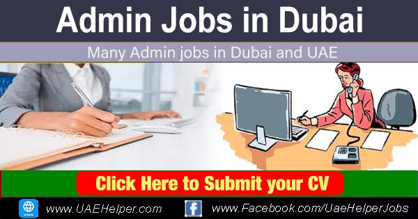 Apply for Admin jobs: