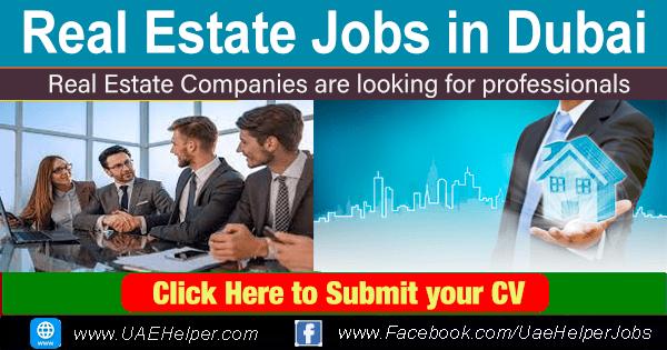 Real estate jobs in Dubai