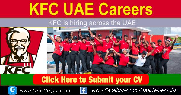KFC Dubai Careers - KFC UAE Careers - Jobs in KFC Dubai UAE
