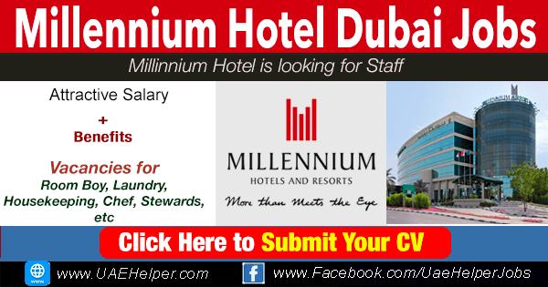 Millennium Hotel Dubai & Sharjah Careers