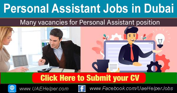 Personal Assistant Jobs in Dubai