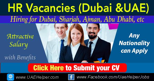 HR Jobs in Dubai & UAE - Latest Vacancies