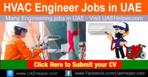 HVAC Engineer Jobs in UAE