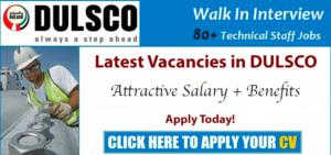 DULSCO Careers in Dubai