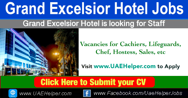 Grand Excelsior Hotel Deira Jobs