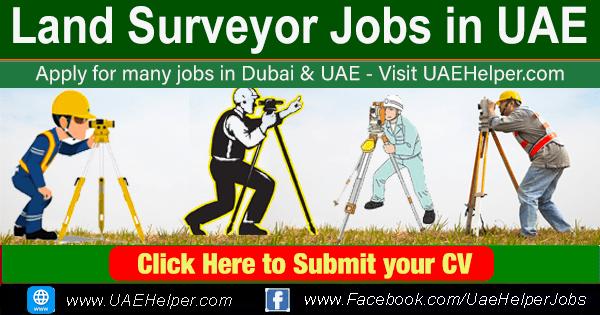 Land Surveyor Jobs in UAE