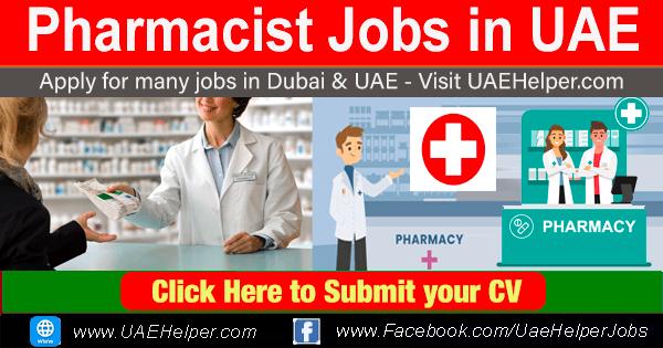 Pharmacist Jobs in UAE