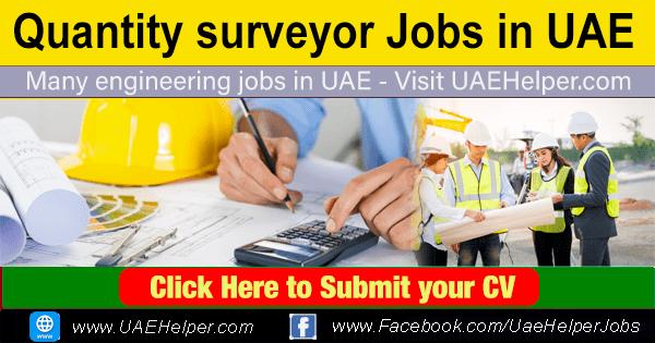 Quantity surveyor jobs in UAE