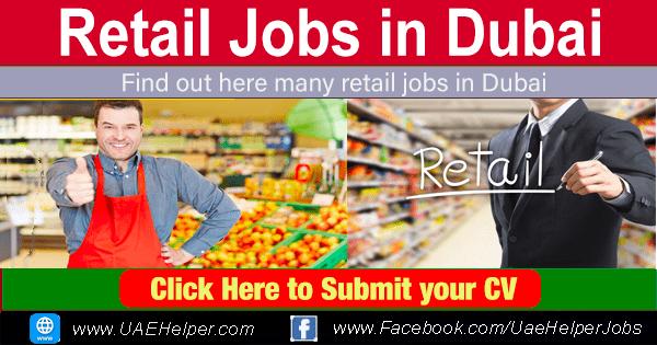 retail jobs in Dubai