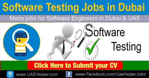 software testing jobs in Dubai: