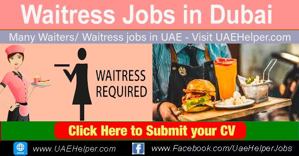 Waitress Jobs in Dubai