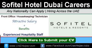 Sofitel Careers Dubai Jumeirah Beach Hotel Jobs in Dubai and UAE