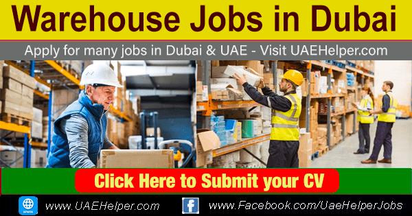 Warehouse Jobs in Dubai